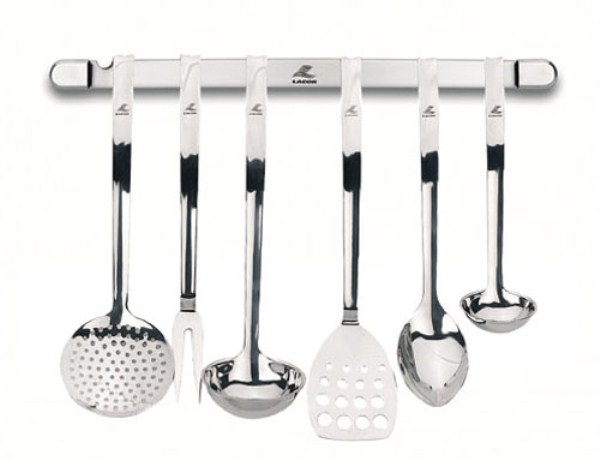Juego de cocina 6 piezas pared profesional lacor cooking for Cucharones de cocina