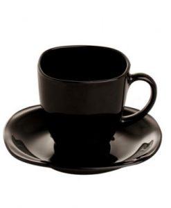 set de 6 tazas carine negras
