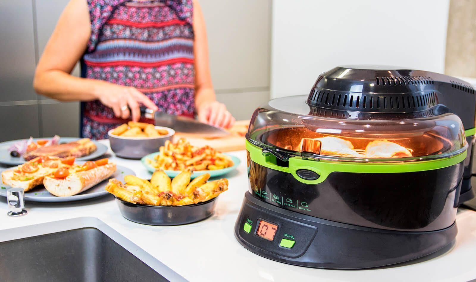 Decubre la cecofry para cocinar sin aceite cooking for Cocinar wok sin aceite