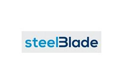 logotipo steel blade cooking menaje del hogar
