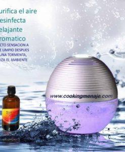 Brumizador purificador aromatico