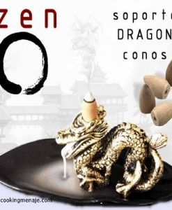 Incensario dragon kit meditacion